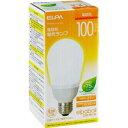 エルパ 電球形蛍光ランプ 100W形 相当 EFA25EL/21-A102H(1コ入)