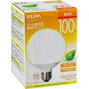 エルパ ボール電球形蛍光ランプ 100W形 相当 EFG25EL/21-G102H(1コ入)