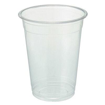 TANOSEE リサイクルPETカップ広口 510ml17オンス