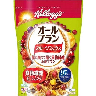 ケロッグ オールブラン フルーツミックス 袋(210g)
