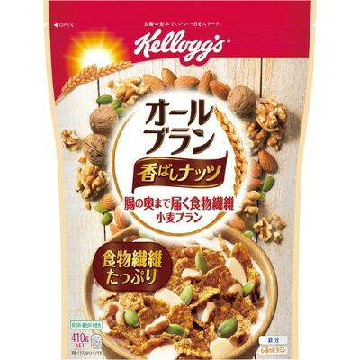 ケロッグ オールブラン 香ばしナッツ(410g)