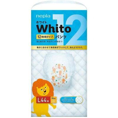 ネピア ホワイト パンツ Lサイズ 12時間タイプ(44枚入)