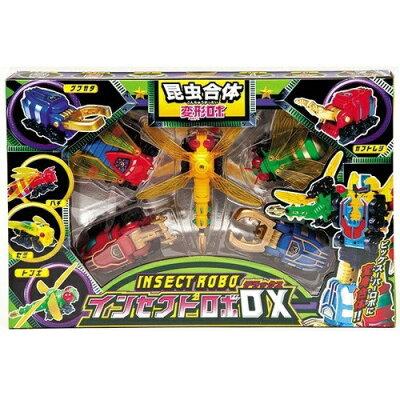 変形ロボシリーズ 昆虫合体 インセクトロボDX 車 昆虫 ロボット 昆虫の色は Xmas_b