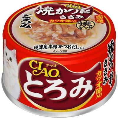 いなば チャオ とろみ 焼かつお ささみ カツオ節入り(80g)