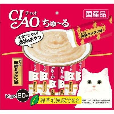 チャオ ちゅ~る まぐろ 海鮮ミックス味(14g*20本入)