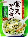 伊那食品工業 かんてんぱぱ 寒天ぞうすい のり・野沢菜 22.8g