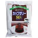 伊那食品工業 かんてんぱぱ カップゼリー80℃ コーヒー 600g