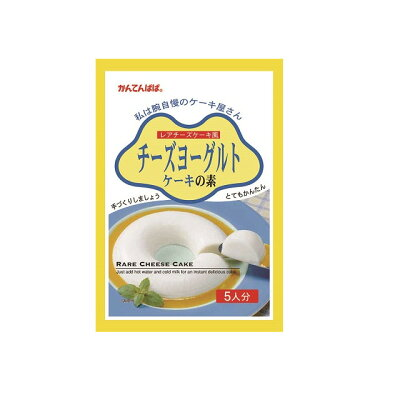 伊那食品工業 チーズヨーグルト ケーキの素 105g