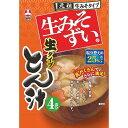 旭松 袋生みそずい 生タイプ とん汁 4食 264.8g
