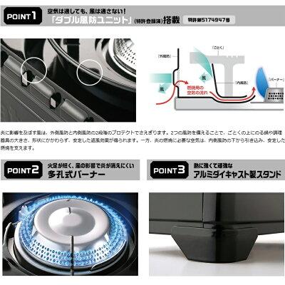 Iwatani カセットフー タフまる CB-ODX-1