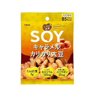 大塚食品 しぜん食感 SOY キャラメルカリカリ大豆