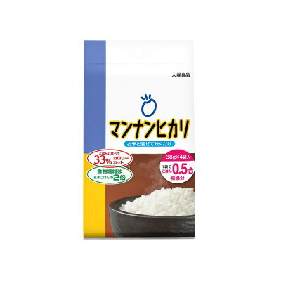 大塚食品 マンナンヒカリ152gスティックタイプ