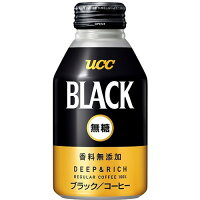 UCC ブラック無糖 DEEP&RICH 275g