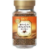 UCC おいしいカフェインレスコーヒー 瓶 90g