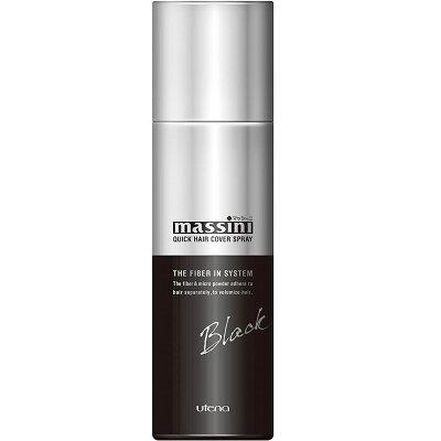 マッシーニ クイックヘアカバースプレー ブラック(140g)