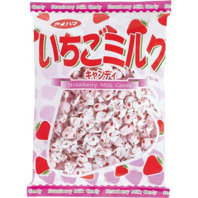 アメハマ製菓 いちごミルク 1Kg