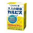 エルビー 大人の健康・カルピス デイリースタイルL-92乳酸 125ml