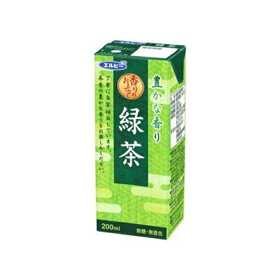 エルビー 緑茶 200ml