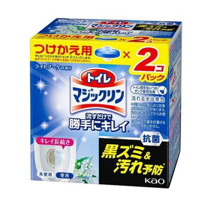 トイレマジックリン トイレ用洗剤 流すだけで勝手にキレイ ライトブーケ 付け替え(80g*2個入)