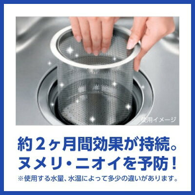 キッチンハイター 排水口除菌ヌメリとり 本体 プラスチックタイプ(1個)