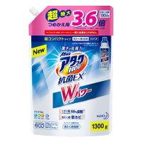 アタックNeo 抗菌EX Wパワー 超特大サイズ つめかえ用 1300g
