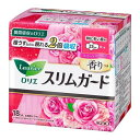 ロリエ スリムガード スイートローズの香り 特に多い昼用 羽つき 18コ入