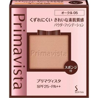 プリマヴィスタ きれいな素肌質感 パウダーファンデーション オークル05 SPF25 PA++(9g)