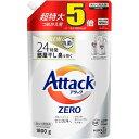 アタックZERO 洗濯洗剤 詰め替え 超特大サイズ(1800g)