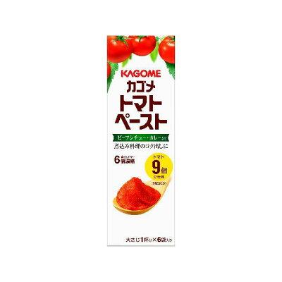 カゴメ カゴメトマトペーストミニパック18g×6