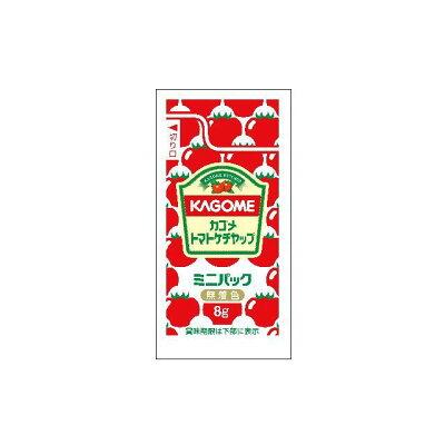 カゴメ カゴメトマトケチャップミニパック8g×100