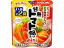 カゴメ 甘熟トマト鍋スープmini50g×2