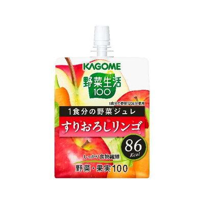 カゴメ YS1食分野菜ジュレすりおろしリンゴ180g