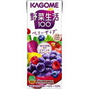 カゴメ 野菜生活100 エナジールーツ 200X12