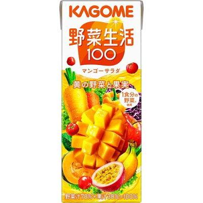 野菜生活100 マンゴーサラダ(200ml 12本入)