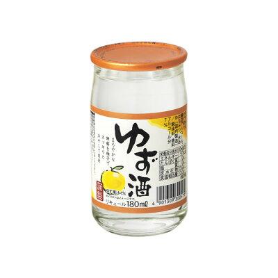 キング醸造 ゆず酒 180ml