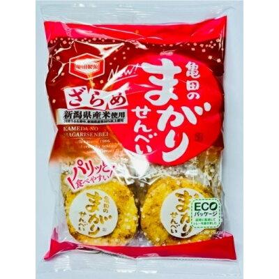 亀田のまがりせんべい ざらめ(12枚入)