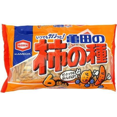 亀田の柿の種 6袋詰(200g)
