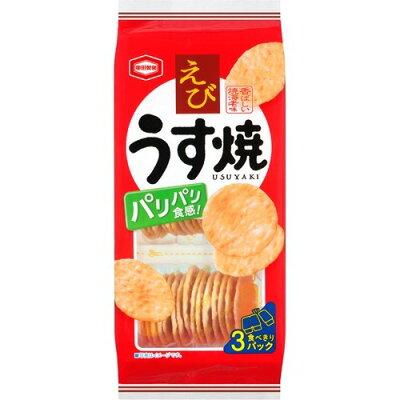 亀田製菓 えびうす焼(3パック)
