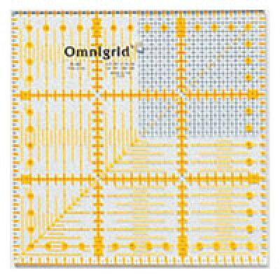 クロバー/オムニグリッド定規 15×15cmG/57-621
