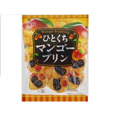 金城製菓 ひとくちマンゴープリン 9個