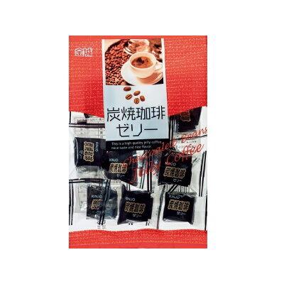 金城製菓 炭焼珈琲ゼリー 140g