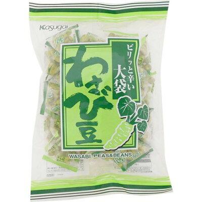 春日井製菓 大袋 わさび豆 265g