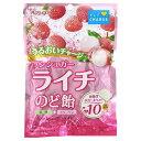 春日井製菓 ノンシュガーライチのど飴 72g
