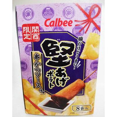 堅あげポテト~串カツソース味~ 026