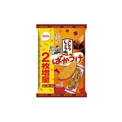 栗山米菓 ばかうけ さとうしょうゆ味 16枚