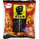 栗山米菓 黒大豆おかき 醤油味 88g