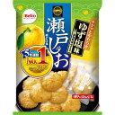 栗山米菓 瀬戸の汐揚げ ゆず塩 10%増量 97g