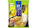 栗山米菓 瀬戸の汐揚 ゆず塩味 48g