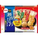 栗山米菓 CGCF 瀬戸の汐揚アソート 33枚