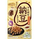 カンロ プチポリ納豆スナック 醤油味(20g)